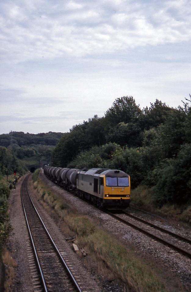 60009, 09.40 Burngullow-Newport Alexandra Dock Junction, Cattybrook, Bristol, 16-9-97.