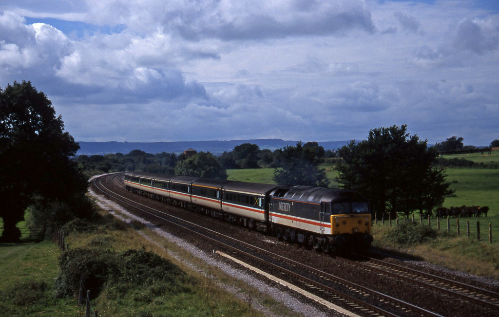 47853, 10.44 Plymouth-Manchester Piccadilly, Cogload, 2-9-97.