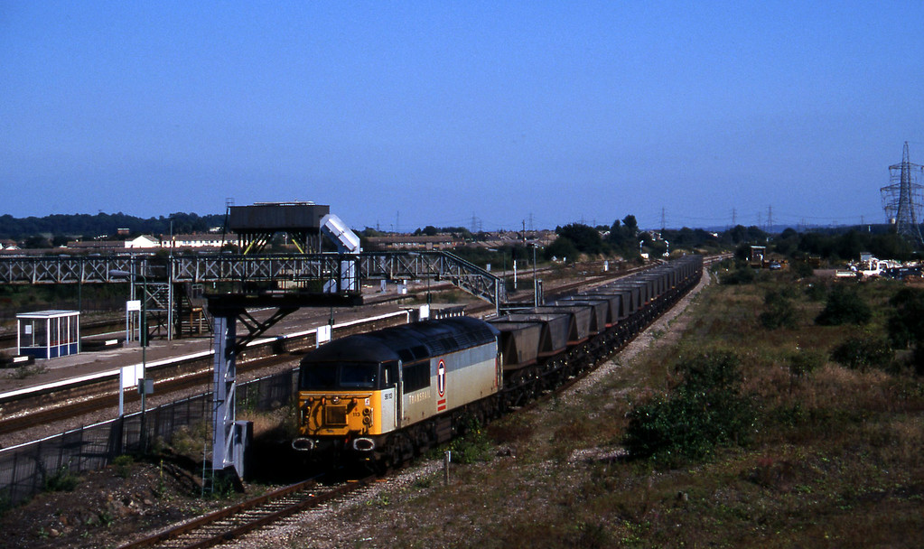 56113, down mgr empties, Severn Tunnel Junction, 9-9-97.