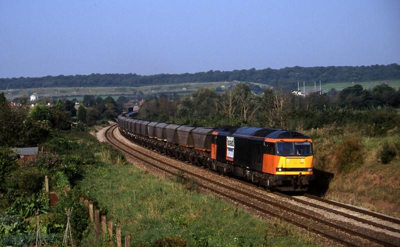 60007, Avonmouth Bulk Handling Terminal-Didcot Power Station, Brentry, Bristol, 22-9-97.