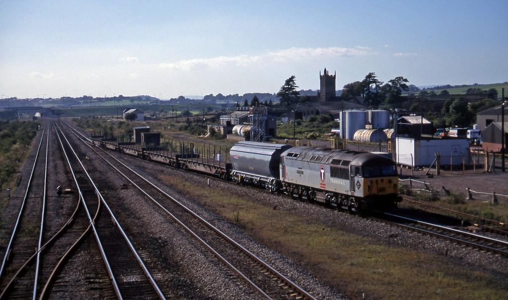 56044, 15.57 Newport Alexandra Dock Junction-Wembley, Severn Tunnel Junction, 9-9-97.