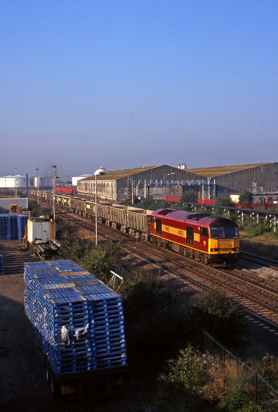 60083, Avonmouth-Westbury, Hallen Marsh Junction, Avonmouth, 08.55.