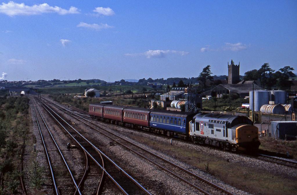 37412, up passenger, Severn Tunnel Junction, 9-9-97.