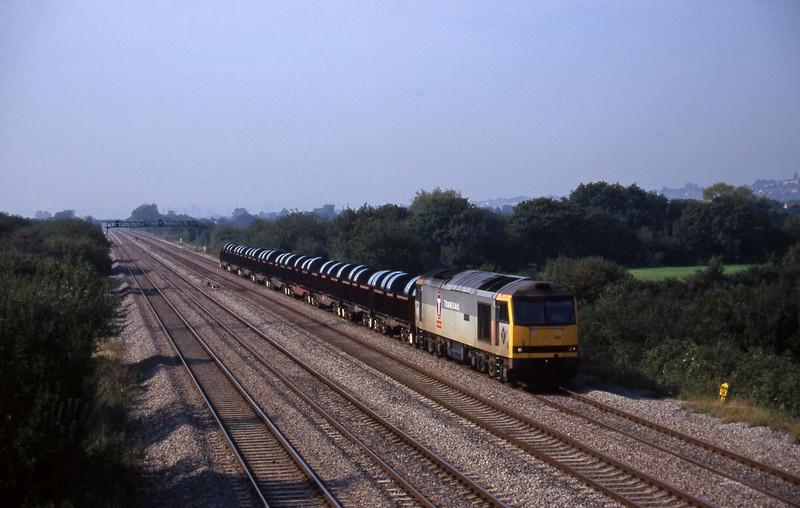 60015, 11.03 Margam-Dee Marsh, St Mellons, Cardiff, 18-9-97.