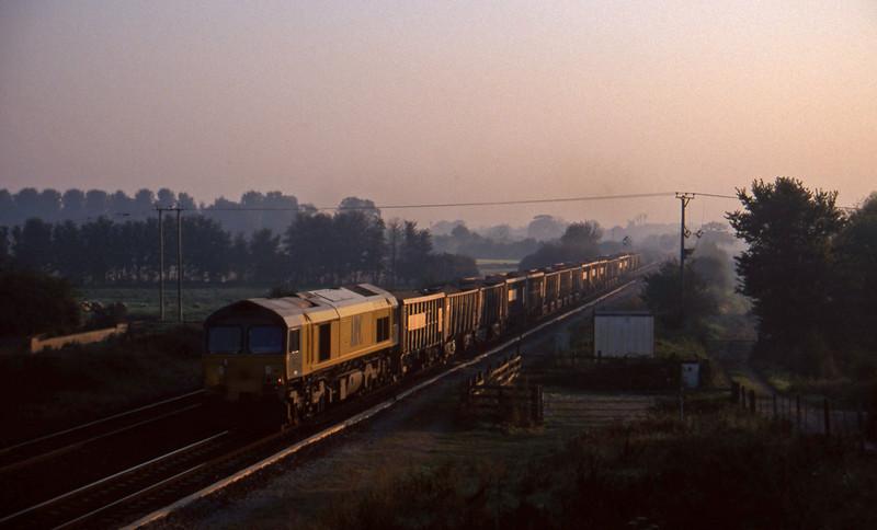 59102, Westbury-Exeter Riverside Yard, Cogload, 22-9-97.