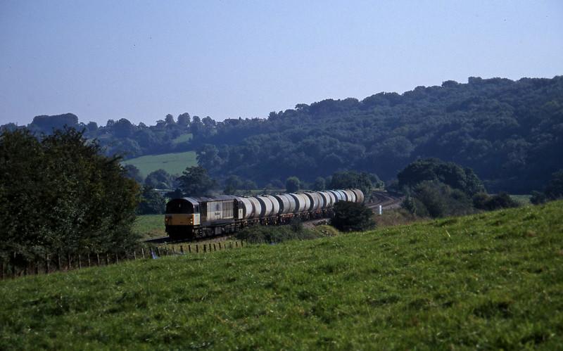 58010, 09.33 Fawley-Bristol St Philip's Marsh, Freshford, 22-7-97.