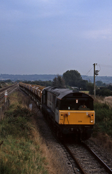 58006, West Drayton-Mahcen Quarry, Pilning loop, 18-9-97.