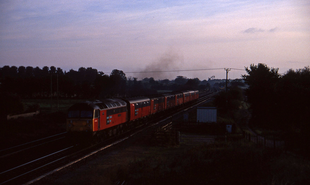 47733, 07.15 Bristol Temple Meads-Plymouth, Cogload, 16-9-97.