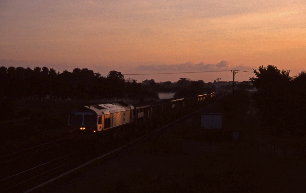 59001, Westbury Yard-Exeter Riverside Yard, Cogload, 16-9-97, 07.10.