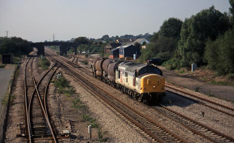 37673, 13.50 Newport Alexandra Dock Junction Yard-St Blazey, Magor, 23-9-97.