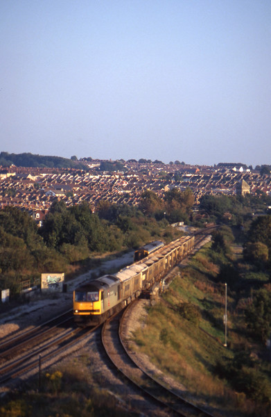 60066, Westbury-Hallen Marsh, Narroways Hill Junction, Bristol, 23-9-97.