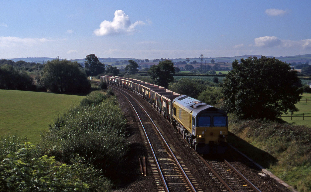 59104, Exeter REiverside Yard-Westbury Yard, Willand, near Tiverton, 17-9-97.