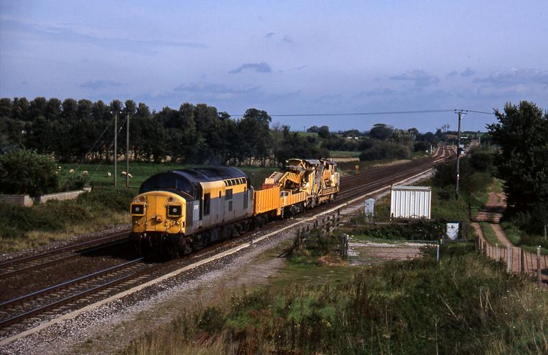 37097, Westbury Yard-Exeter Riverside Yard, Cogload, 16-9-97.