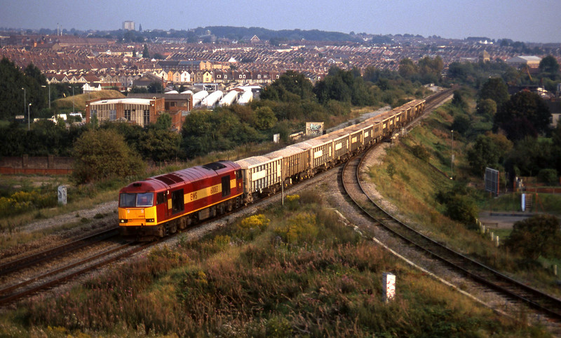 60083, Westbury-Avonmouth, Narroways Hill Junction, B ristol, 18-9-97.