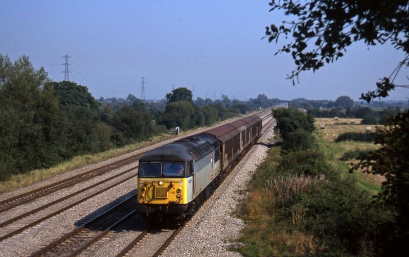 56125, 07.35 Warrington Arpley-Cardiff Canton, St Mellons, Cardiff, 18-9-97.