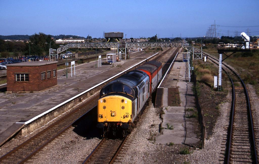 37701, down vans, Severn Tunnel Junction, 9-9-97.