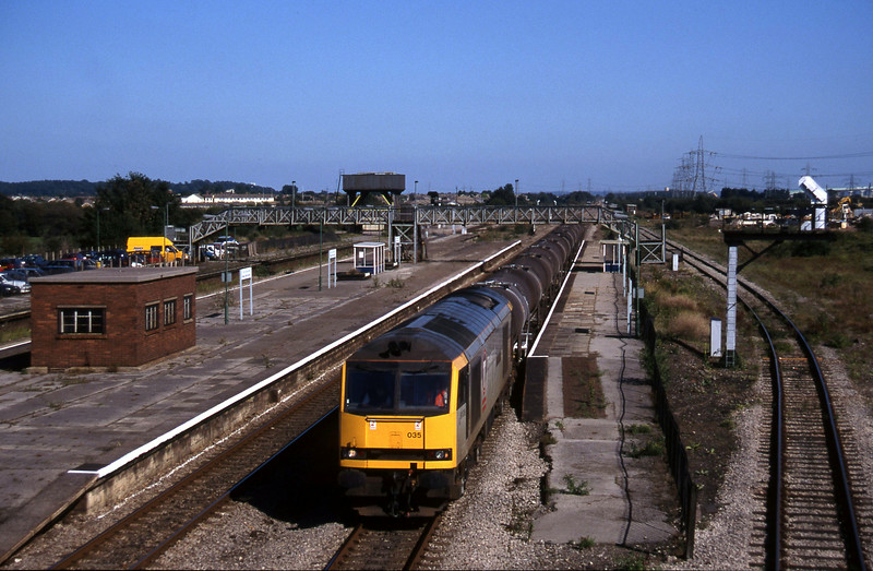 60035, 09.40 Burngullow-Newport Alexandra Dock Junction, Severn Tunnel Junction, 9-9-97.