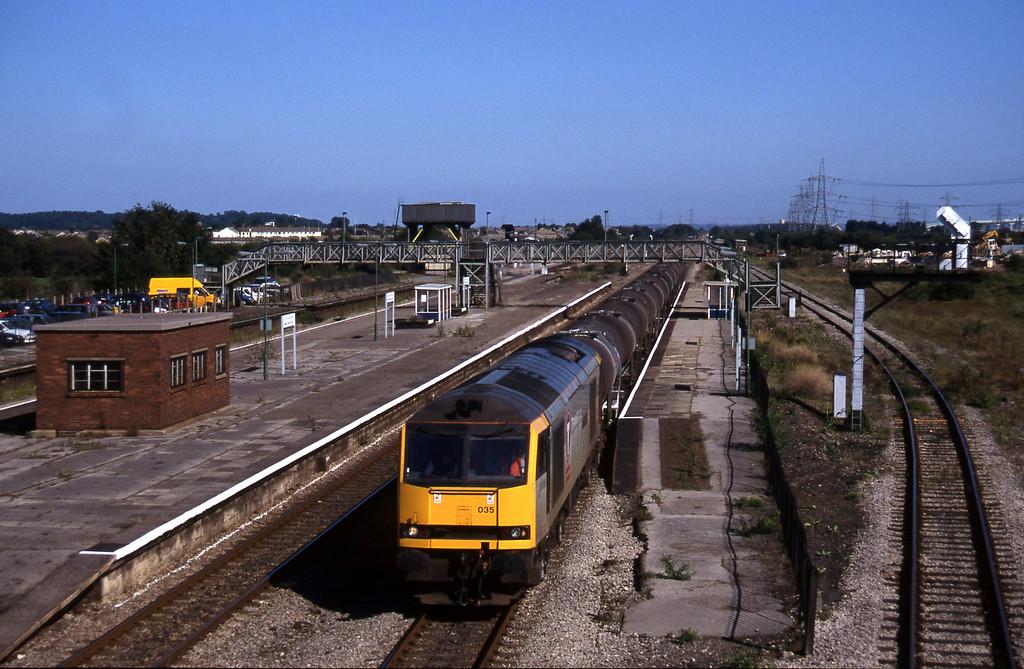 60035, 09.40 Burngullow-Newport Alexandra Dock Junction, Severn Tunnel Junction, 9-9-97.