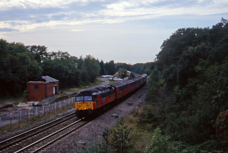 47733, 12.44 Plymouth-Glasgow, Coalpit Heath, Bristol, 16-9-97.