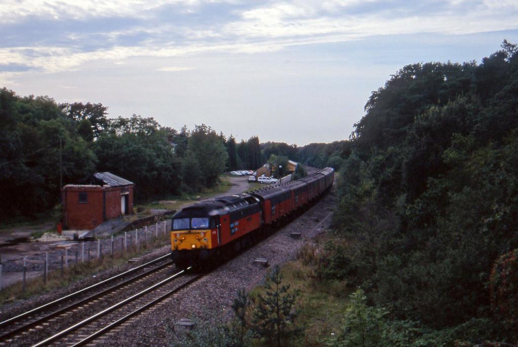 47733, 12.44 Plymouth-Glasgow, Coalpit Heath, Bristol, 16-9-97.