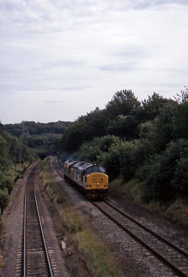 37229/37095, down light, Cattybrook, Bristol, 16-9-97.