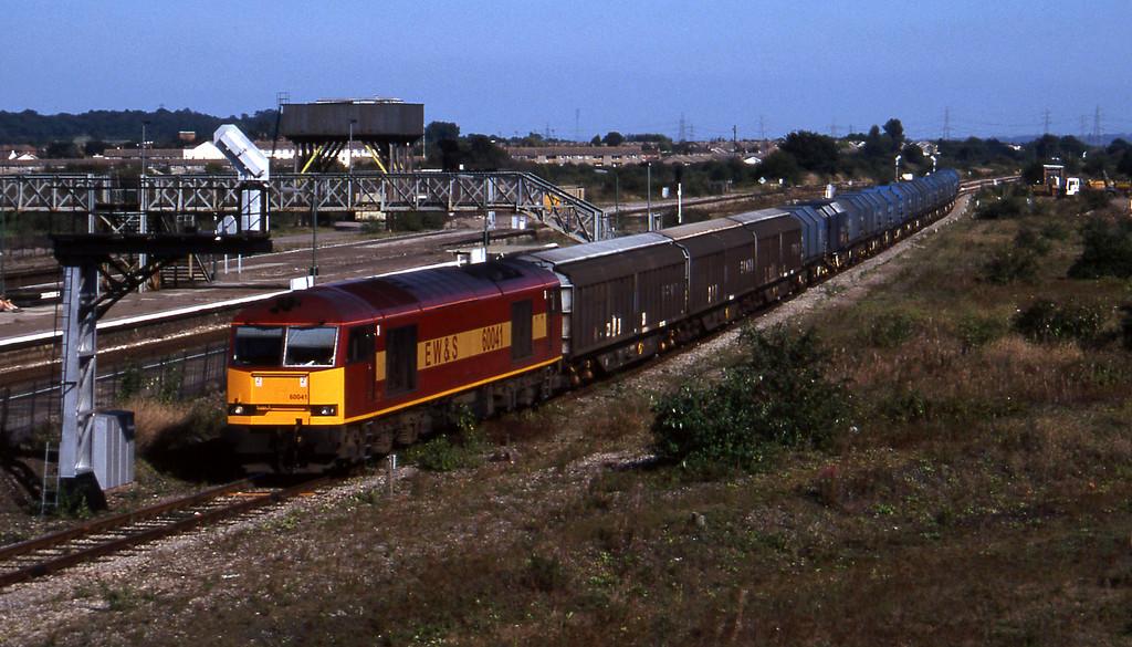 60041, 11.05 Round Oak-Margam, Severn Tunnel Junction, 9-9-97.