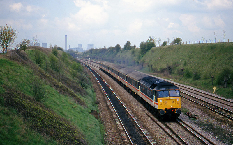 47840, up, South Moreton, near Didcot, 7-4-98.