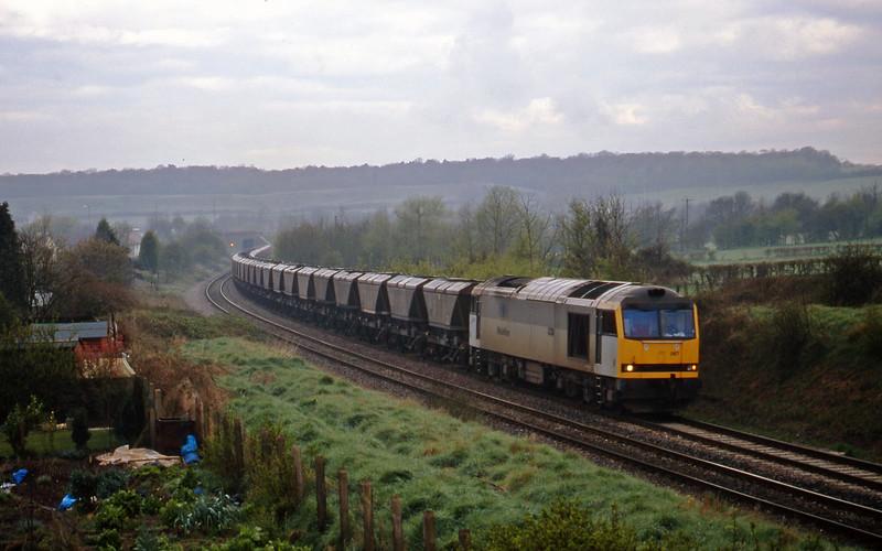 60087, Avonmouth Bulk Handling Terminal-Didcot Power Station, Brentry, Bristol, 7-4-98.