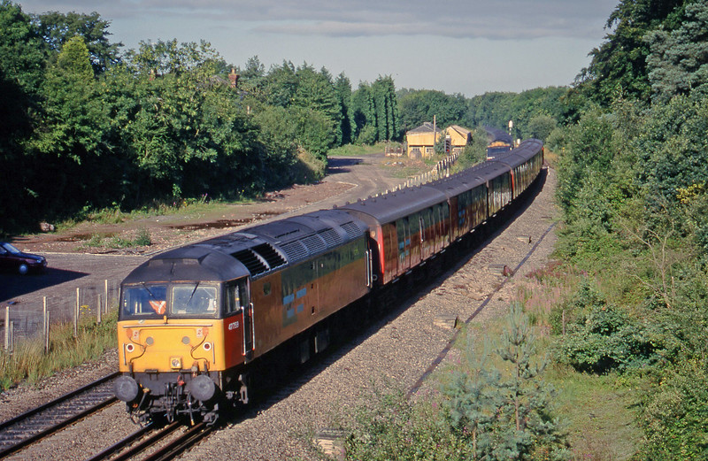 47759, 07.52 Bristol Barton Hill-Warrington,  Coalpit Heath, near Bristol, 4-8-98.