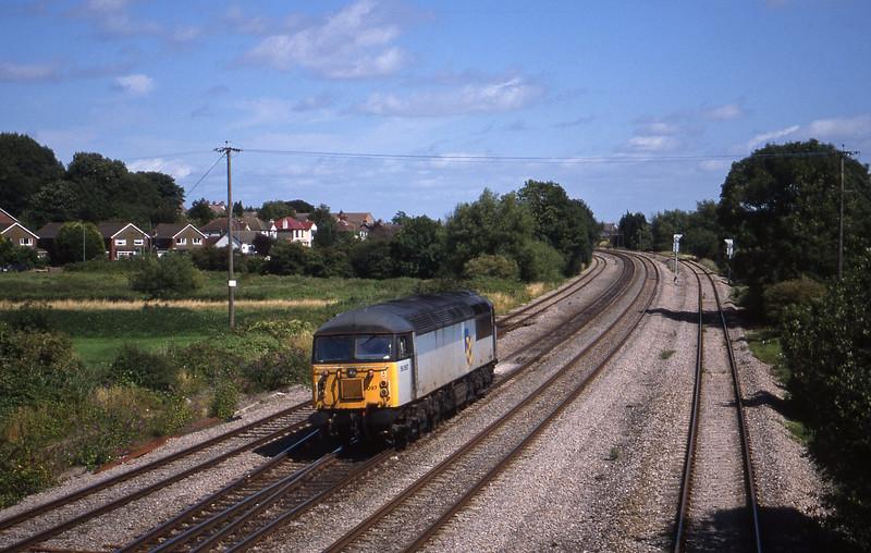 56097, 13.50 Newport Alexandra Dock Junction Yard-Avonmouth Bulk Handling Terminal Magor, 4-8-98.