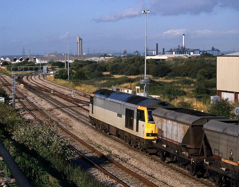 60068, Avonmouth Bulk Handling Terminal-Didcot Power Station, Hallen Marsh Junction, 4-8-98.