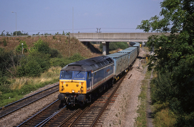 47711, 11.11 Calvert-Bath RTS, Didcot North Junction, 11-8-18.