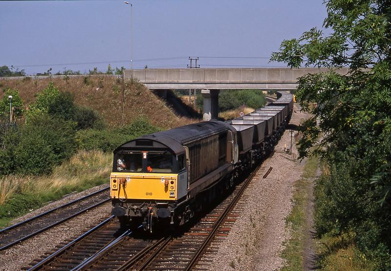 58010, Ironbridge Power Station-Avonmouth Bulk Handling Terminal, Didcot North Junction, 11-8-18.