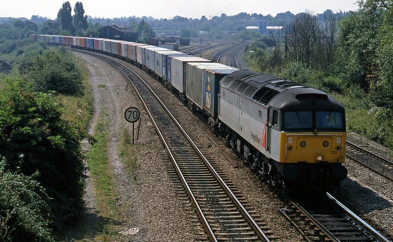 47231, 10.19 Southampton-Crewe Basford Hall, Didcot North Junction, 11-8-18.