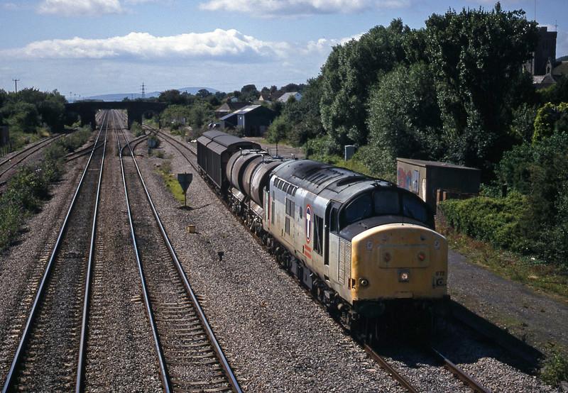 37672, 14.50 Newport Alexandra Dock Junction Yard-St Blazey, Magor, 4-8-98.