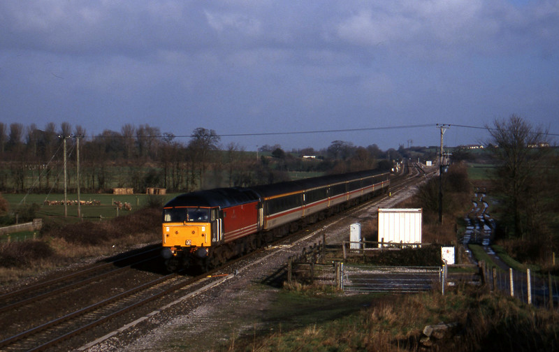 47845, 09.10 Liverpool Lime Street-Plymouth, Cogload, 13-1-98.