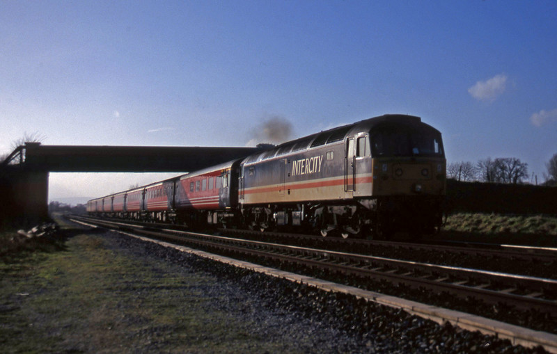 47818, 11.44 Plymouth-Liverpool Lime Street, Cogload, 13-1-98.