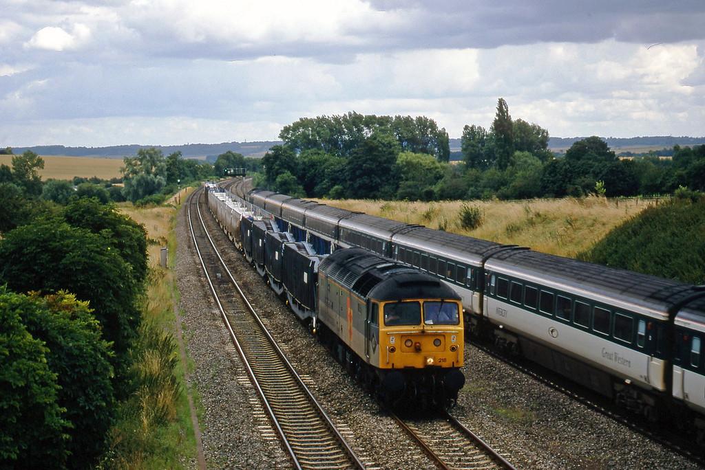 47218, 09.20 Dollands Moor-Washwood Heath, South Moreton, near Didcot, 21-7-98.
