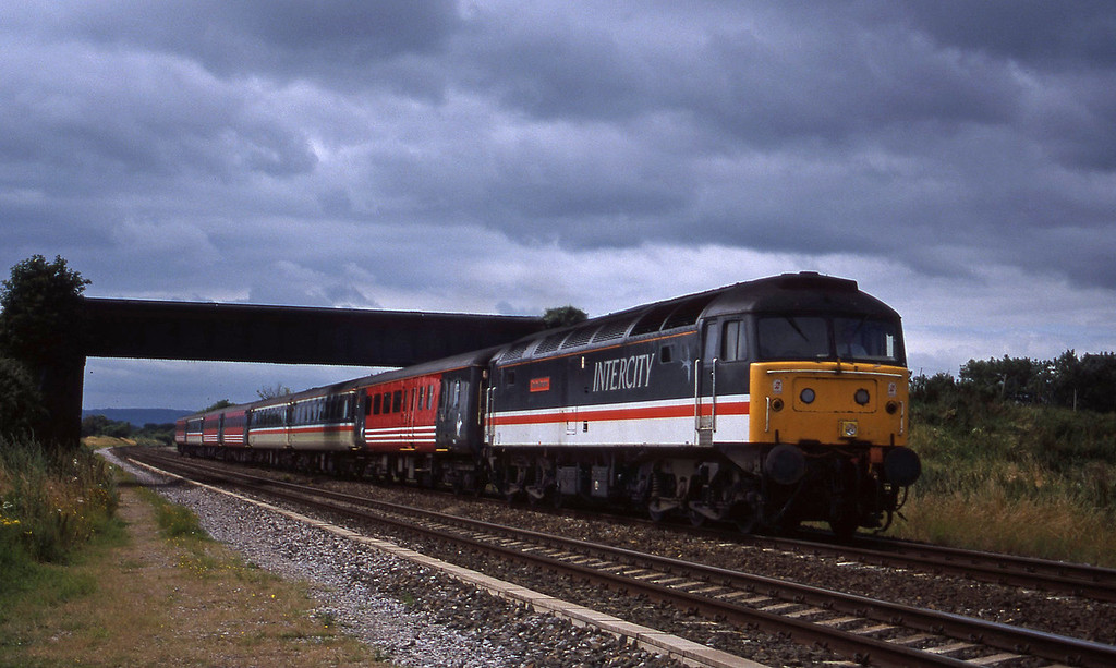 47831, 08.48 Penzance-Manchester Piccadilly, Cogload, 14-7-96.