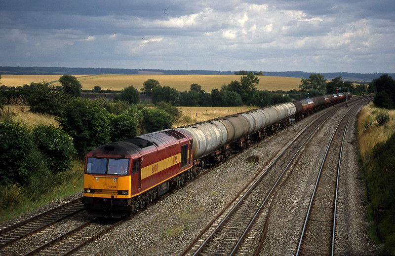 60018, 13.40 Theale-Robeston, South Moreton, near Didcot, 21-7-98.