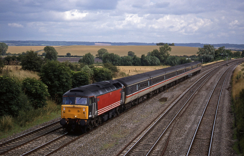 47806, down, South Moreton, near Didcot, 21-7-98.