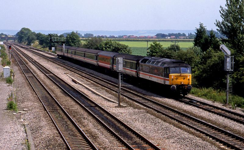 47854, down passenger, Didcot, 7-7-98.
