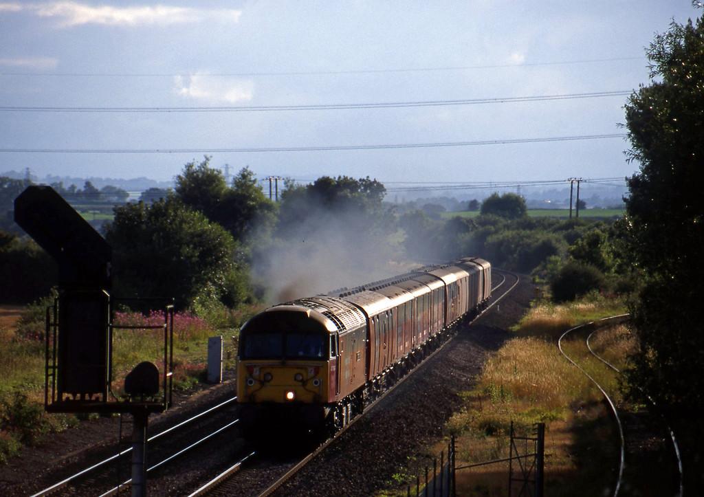 47764, 17.23 Plymouth-Low Fell, Norton Fitzwarren, near Taunton, 27-7-98.