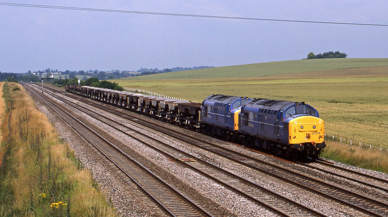 37274/37371, up departmental, Cholsey, 7-7-98.