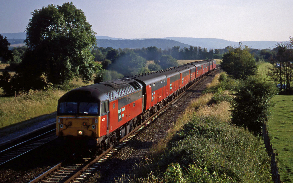 47777, 17.23 Plymouth-Low Fell, Cogload, 3-7-98.