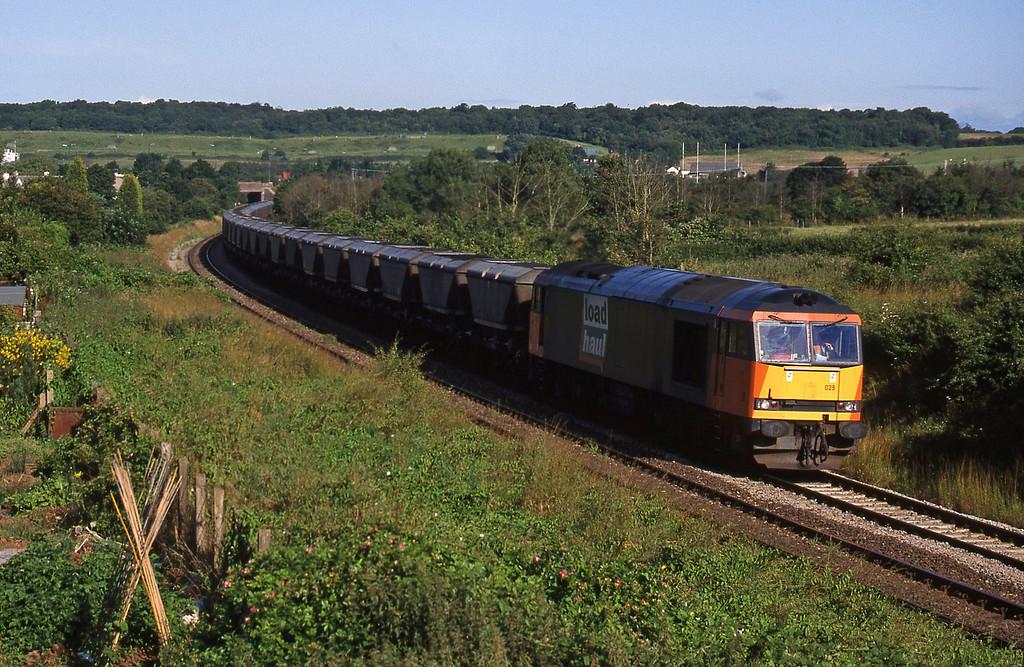 60025, Avonmouth Bulk Handling Terminal-Didcot Power Station, Brentry, Bristol, 14-7-98.