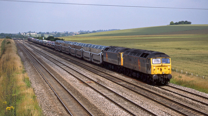 47297/47217, 09.52 Washwood Heath-Dollands Moor, Cholsey, 7-7-98.
