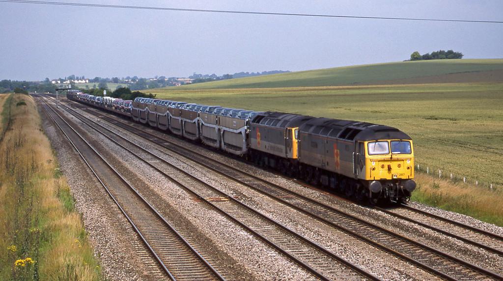 47297/47217, 09.52 Washwood Heath-Dollands Moor, Cholsey, 7-7-98.