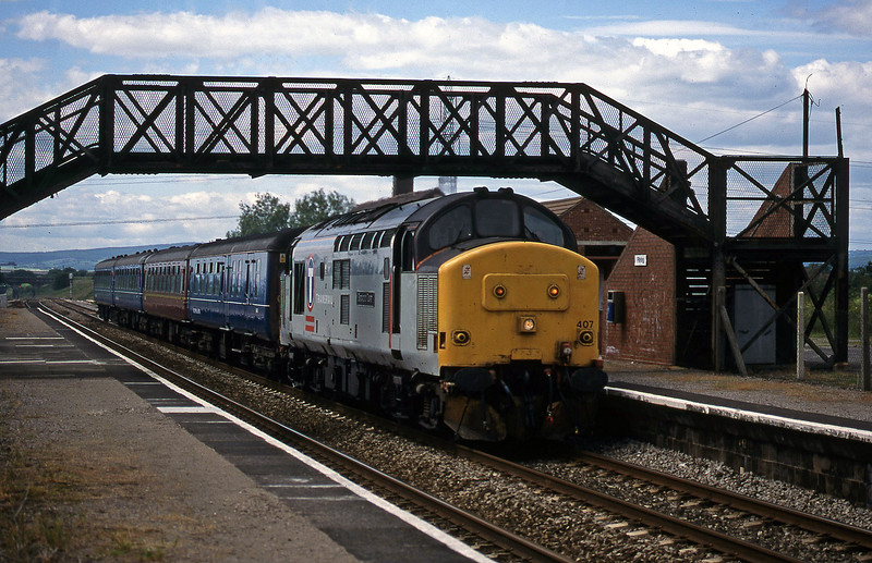 37407, 14.30 Cardiff Central-Bristol Temple Meads, Pilning, 11-6-98.