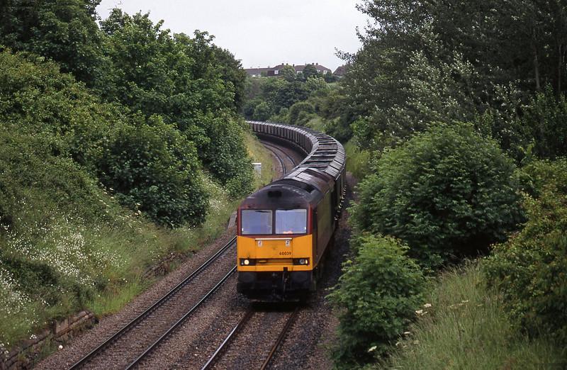 0039, Didcot Power Station-Avonmouth Bulk Handling Terminal, Brentry, Bristol, 9-6-98.